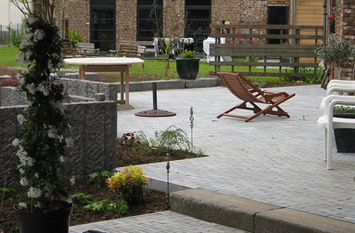 Double niveaux for Amenagement jardin 2 niveaux